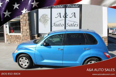 2009 Chrysler PT Cruiser for sale at A&A Auto Sales in Orem UT