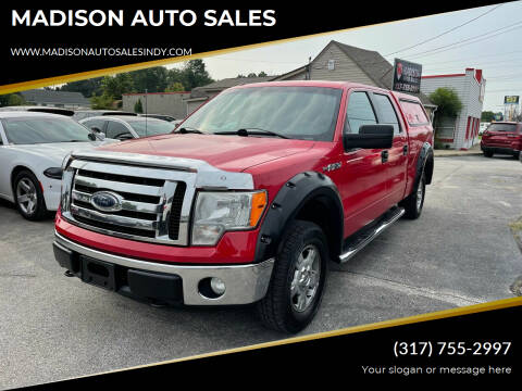2011 Ford F-150 for sale at MADISON AUTO SALES in Indianapolis IN