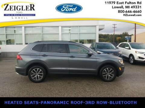2019 Volkswagen Tiguan for sale at Zeigler Ford of Plainwell- michael davis in Plainwell MI