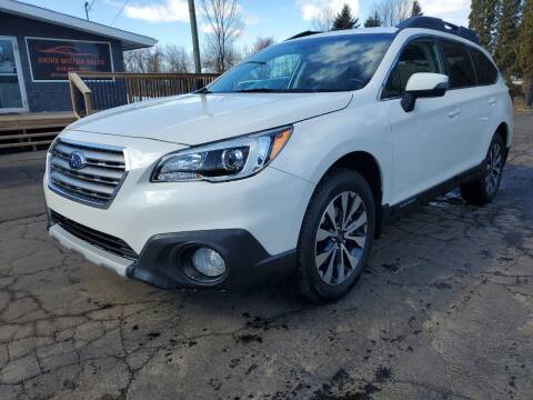 2015 Subaru Outback for sale at Drive Motor Sales in Ionia MI