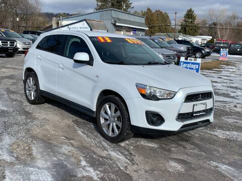 2013 Mitsubishi Outlander Sport for sale at Saratoga Motors in Gansevoort NY