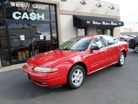 2004 Oldsmobile Alero for sale at Wilson-Maturo Motors in New Haven Ct CT