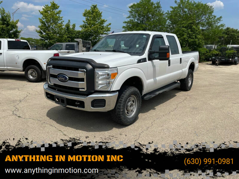 2016 Ford F-250 Super Duty for sale at ANYTHING IN MOTION INC in Bolingbrook IL