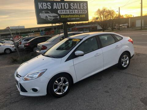 2013 Ford Focus for sale at KBS Auto Sales in Cincinnati OH