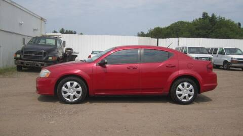 2012 Dodge Avenger for sale at Pepp Motors - Superior Auto in Negaunee MI