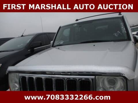 2009 Jeep Commander for sale at First Marshall Auto Auction in Harvey IL