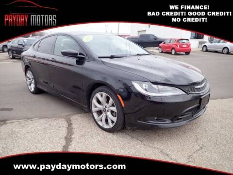 2015 Chrysler 200 for sale at Payday Motors in Wichita And Topeka KS