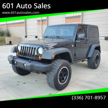 2012 Jeep Wrangler for sale at 601 Auto Sales in Mocksville NC