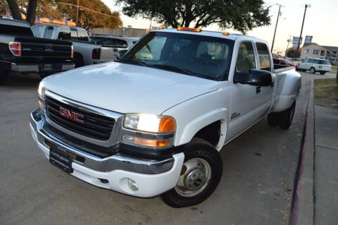 2005 GMC Sierra 3500 for sale at E-Auto Groups in Dallas TX