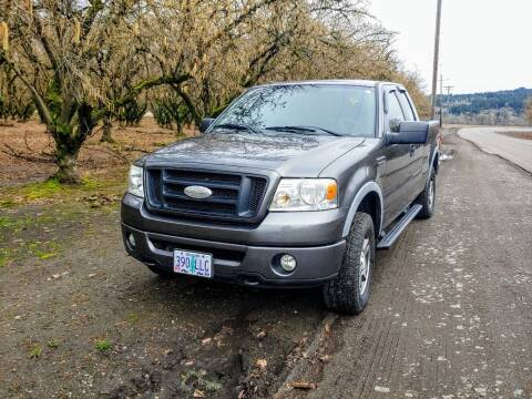 2007 Ford F-150 for sale at M AND S CAR SALES LLC in Independence OR