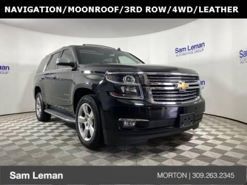 2015 Chevrolet Tahoe for sale at Sam Leman CDJRF Morton in Morton IL