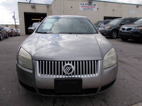 2008 Mercury Milan for sale at ACH AutoHaus in Dallas TX