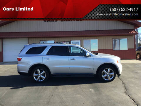 2013 Dodge Durango for sale at Cars Unlimited in Marshall MN