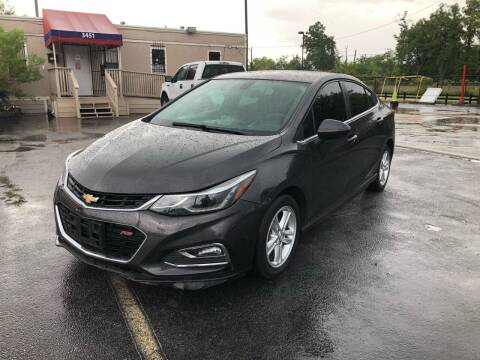 2016 Chevrolet Cruze for sale at Saipan Auto Sales in Houston TX