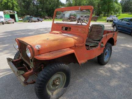 1952 Jeep CJ-5 for sale at Haggle Me Classics in Hobart IN