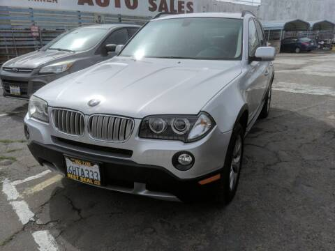 2009 BMW X3 for sale at Best Deal Auto Sales in Stockton CA