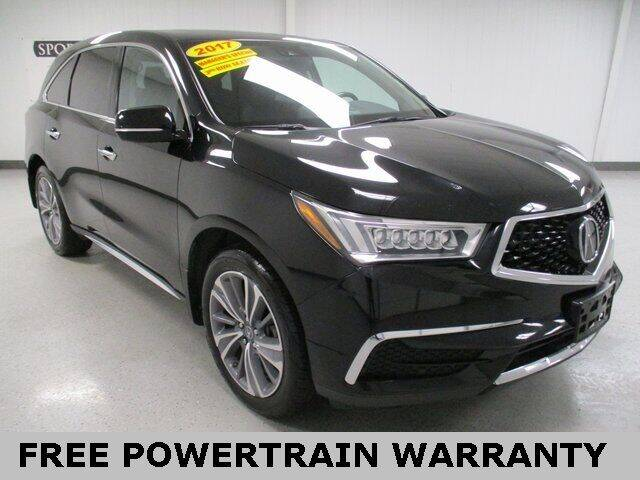2017 Acura MDX for sale at Sports & Luxury Auto in Blue Springs MO