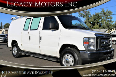 2014 Ford E-Series Cargo for sale at Legacy Motors Inc in Roseville CA