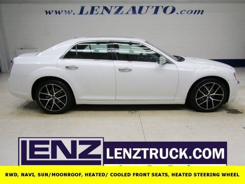 2012 Chrysler 300 for sale at LENZ TRUCK CENTER in Fond Du Lac WI