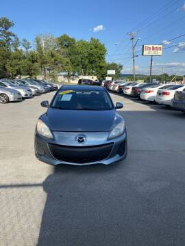 2013 Mazda MAZDA3 for sale at Elite Motors in Knoxville TN