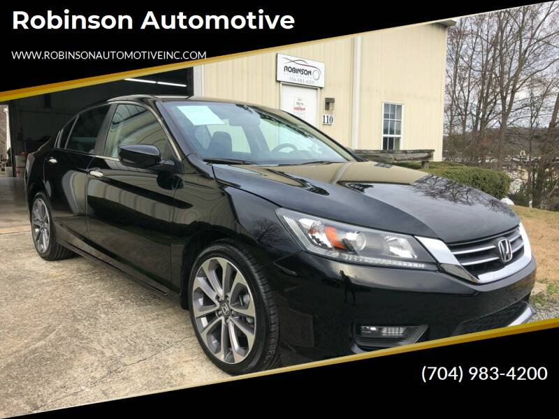 2014 Honda Accord for sale at Robinson Automotive in Albemarle NC