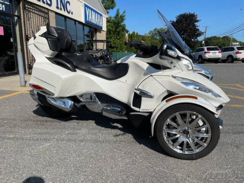 2018 Can-Am SPYDER RT LIMITED SE6 for sale at ROUTE 3A MOTORS INC in North Chelmsford MA