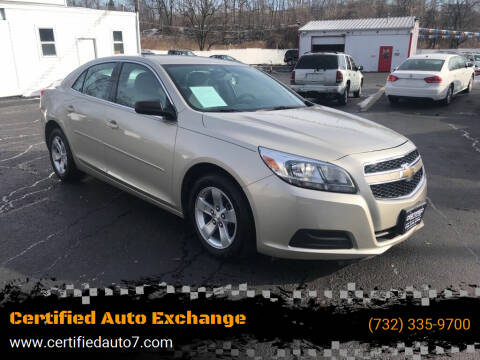 2013 Chevrolet Malibu for sale at Certified Auto Exchange in Keyport NJ