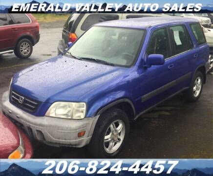 2001 Honda CR-V for sale at Emerald Valley Auto Sales in Des Moines WA
