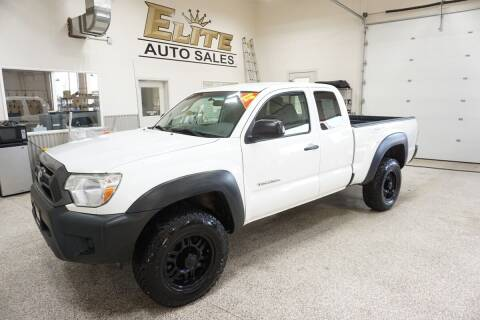 2012 Toyota Tacoma for sale at Elite Auto Sales in Ammon ID