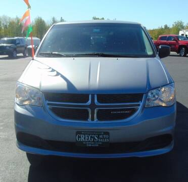 2016 Dodge Grand Caravan for sale at Greg's Auto Sales in Searsport ME