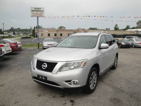 2013 Nissan Pathfinder for sale at A&S 1 Imports LLC in Cincinnati OH