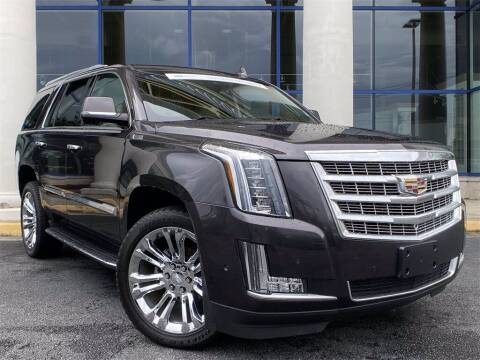 2017 Cadillac Escalade for sale at Southern Auto Solutions - Capital Cadillac in Marietta GA
