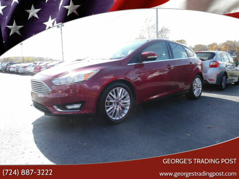 2015 Ford Focus for sale at GEORGE'S TRADING POST in Scottdale PA