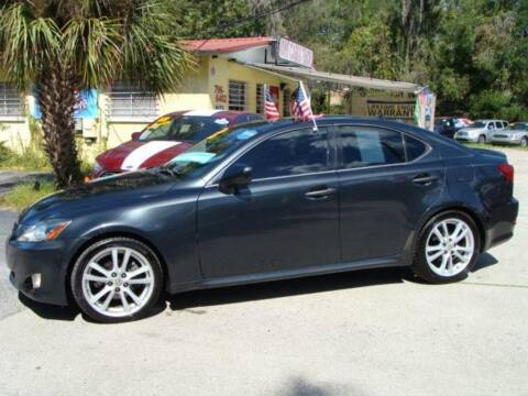 2007 Lexus IS 250 for sale at VANS CARS AND TRUCKS in Brooksville FL
