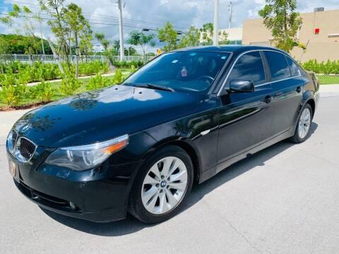 2006 BMW 5 Series for sale at LA Motors Miami in Miami FL