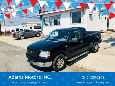 2005 Ford F-150 for sale at Adams Motors INC. in Inwood NY