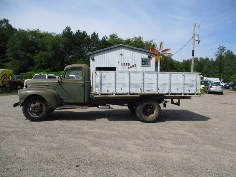 1947 Ford F-4 for sale at D & T AUTO INC in Columbus MN