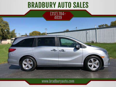 2018 Honda Odyssey for sale at BRADBURY AUTO SALES in Gibson City IL