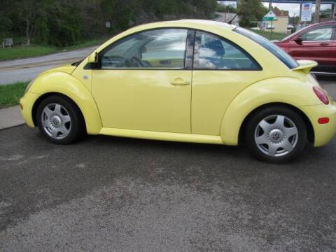 2000 Volkswagen New Beetle for sale at TRAIN STATION AUTO INC in Brownsville PA