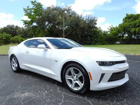 2017 Chevrolet Camaro for sale at SUPER DEAL MOTORS 441 in Hollywood FL