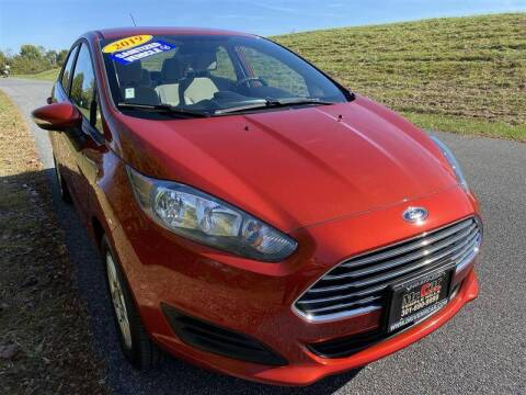 2019 Ford Fiesta for sale at Mr. Car City in Brentwood MD