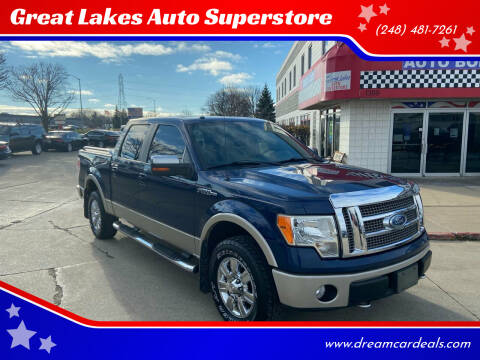 2009 Ford F-150 for sale at Great Lakes Auto Superstore in Pontiac MI