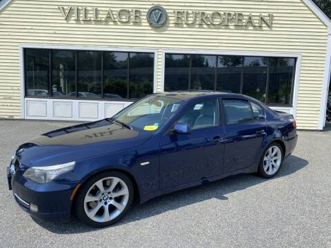 2009 BMW 5 Series for sale at Village European in Concord MA