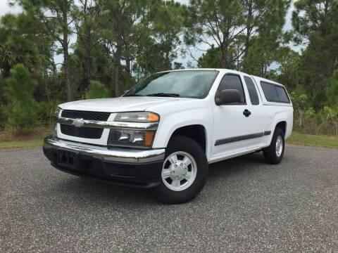2006 Chevrolet Colorado for sale at VICTORY LANE AUTO SALES in Port Richey FL