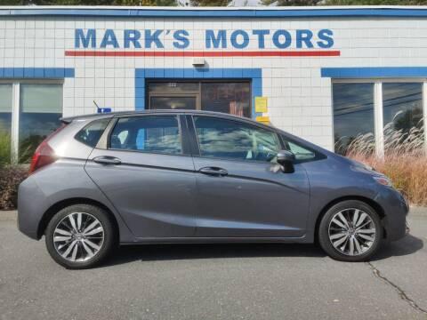 2015 Honda Fit for sale at Mark's Motors in Northampton MA