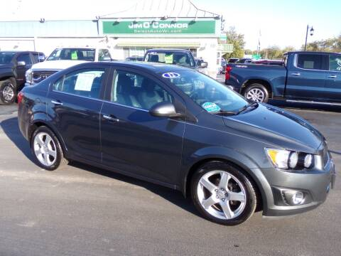 2012 Chevrolet Sonic for sale at Jim O'Connor Select Auto in Oconomowoc WI