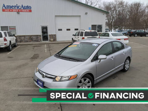 2008 Honda Civic for sale at AmericAuto in Des Moines IA