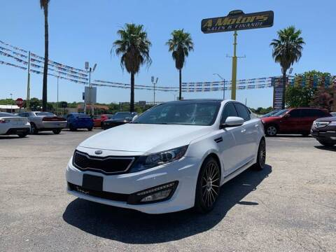 2013 Kia Optima for sale at A MOTORS SALES AND FINANCE in San Antonio TX