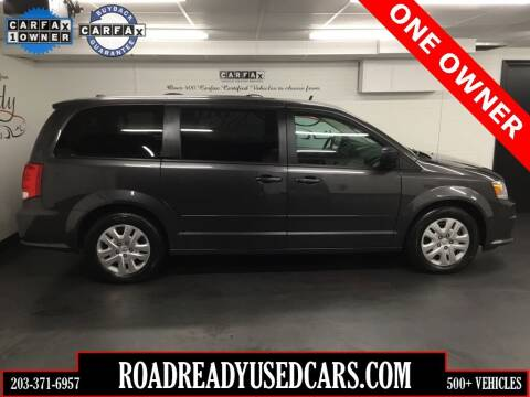 2016 Dodge Grand Caravan for sale at Road Ready Used Cars in Ansonia CT