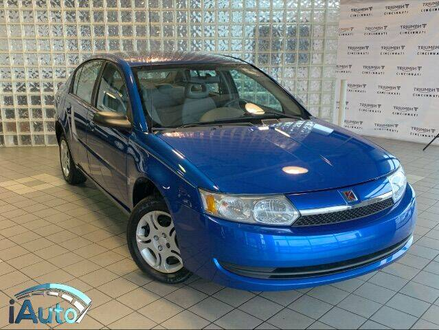 2004 Saturn Ion for sale at iAuto in Cincinnati OH